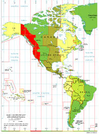 12 Exact Canadian Time Zone Map Chart