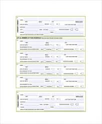 Employment Verification Form Templates | Template Business