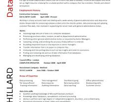 data entry resume sample skills with no experience writing wallpaper resu