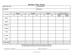 Free Printable Timesheets For Employees Best Best Weekly Timesheet Template Printable Pictures Weekly Time