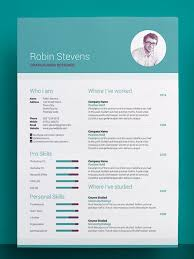 Creative Resume Template Download Free Resume And Cover Letter
