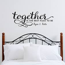 personalized family vinyl wall art together is the best place to be 14979 on personalized wall art gifts with personalized family vinyl wall art together is the best place to be