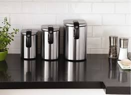 contemporary kitchen canisters kitchen canisters with beneficial