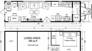 Tiny House Floor Plans  Long Tiny Home On Wheels Design YouTube - Tiny home design plans