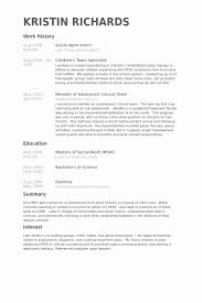 Addiction Specialist Sample Resume Classy Rit Cs Sample Resume Impressive Social Work Sample Resume Examples