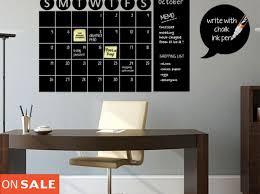 large chalkboard calendar chalkboard calendar decals chalk board wall calendar vinyl