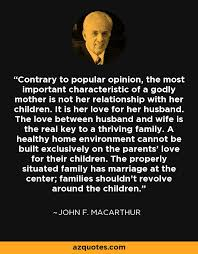 John F MacArthur Quote Contrary To Popular Opinion The Most Inspiration John Macarthur Quotes