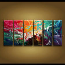 on huge modern wall art canvas with hand painted huge modern abstract painting wall art decoration ideas
