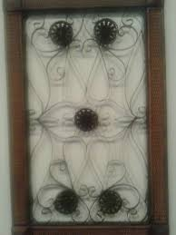 This cohesive variety will draw interest to any wall you hang it on! Wood And Black Metal Weave Rattan Wall Hanging Decor 27 X 17 X 1 Ebay