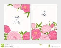 Save The Date Cards Templates Bundle Of Wedding Invitation And Save The Date Card Templates