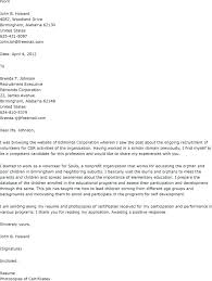 Cover Letter Volunteer Work Collection Of Solutions Forensic
