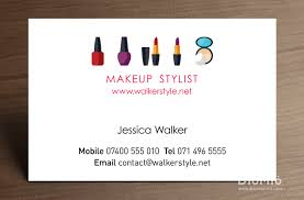 sle makeup artist business cards for model fashion unique beeindruckend design ideas 18