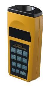 <b>Waterproof Digital LCD</b> Ultrasonic Sonic Distance Measuring Tape ...