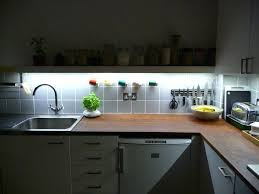 cupboard lighting led. Under Cabinet Lighting Led Ation Kitchen Counter Strip Battery Powered Remote . Cupboard