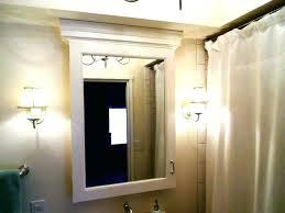 bathroom cabinet mirror light storage cine cabinets surface mount best modern