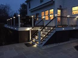 trex deck lighting. Backyard Deck Lighting Trex G