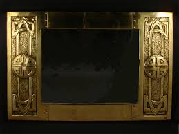 Small Picture A Margaret Gilmour Studio beaten brass wall mirror designed by