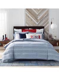tommy hilfiger tommy hilfiger david jones william stripe quilt cover set queen bed