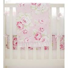 Designer baby Crib Blankets & Quilts – Jack and Jill Boutique & Ruffled Border Blanket | Pink Floral Pink Desert Rose Adamdwight.com