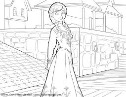 Coloring Pages Free Printable Frozen For Kids Disney Staggering