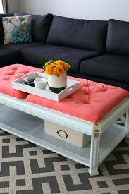 turn coffee table into ottoman turn coffee table into storage ottoman