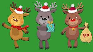 All Santas Reindeer Names Of All The Reindeer Youtube