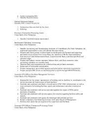 transaction processor resume  seangarrette cojmcn resume  handles clearances of new customers    transaction processor resume