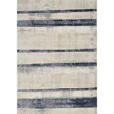 5 x 8 medium beige and blue striped area rug alida rc willey furniture