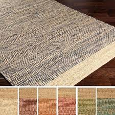 hand woven jute cotton area rug rugs