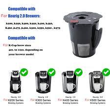 Bộ Lọc Cà Phê Tiện Lợi Cho Máy Pha Cà Phê Keurig 2.0 My K-cup K200 K300  K400 K500 K450 K575