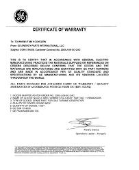 Warranty Letter Cover Letter Samples Cover Letter Samples