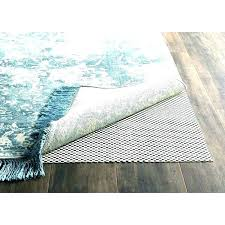 natural rubber and felt rug pad