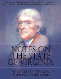 thomas jefferson former us president jefferson wrote a book and included thoughts of the federalist essays philosophy education online