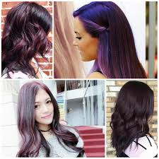 Purple Hair Style chic dark purple hair color ideas haircuts and hairstyles for 2419 by wearticles.com