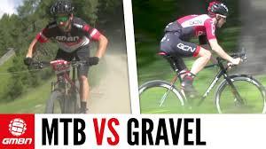 <b>Mountain Bike</b> Vs <b>Gravel</b> Bike – Which Is Faster? GMBN Vs GCN ...