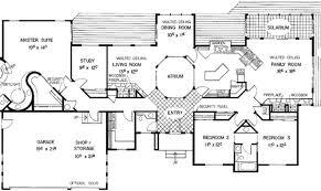 Atrium house plans