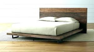 Low Profile Wood Bed Full Size Of White Wooden Frame With Drawers ...