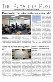 The Puyallup Post Volume 23 Issue 1 October 24 2017 By The
