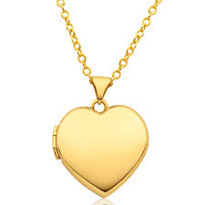9ct yellow gold heart shape plain locket 10252936 jewellery shiels jewellers