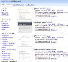 Google Docs Functional Resume Template Google Docs Resume Templates