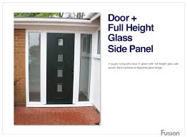 front doors with side panelsComposite side panels create a real contemporary front door  Hall