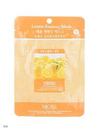 Маска тканевая лимон MIJIN 7498276 в интернет-магазине ...