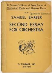 new york philharmonic scores > barber samuel document image