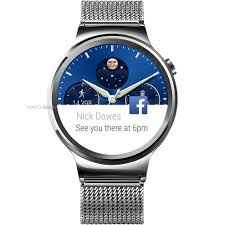 huawei w1. unisex huawei w1 android wear bluetooth smart - eu adaptor alarm watch 118315 a