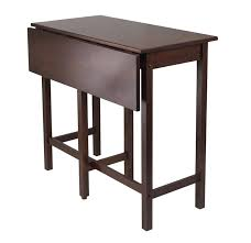 34 lynnwood drop leaf high table by winsome solid