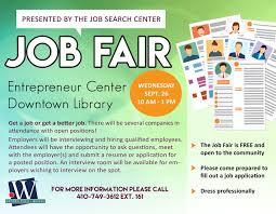 Job Fair Downtown Salisbury Md