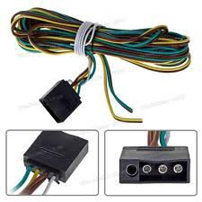 boat trailer wiring 16ft 4 way trailer wiring connection kit flat wire extension harness boat car rv