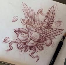 эскизы птиц значение татуировок с птицами