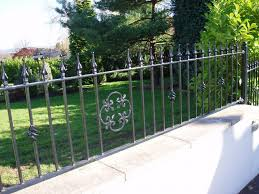 wrought iron fence ideas. Delighful Wrought Nice Idea Wrought Iron Garden Fence Beautiful Ideas 1000 Images About  Fencing On Pinterest In