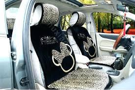 disney car seat covers cushion warm plush leopard grain auto black ratings